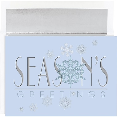 Great Papers® Winter Snowflakes Holiday Cards & Envelopes