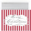 Merry Christmas Holly Holiday Cards & Envelopes