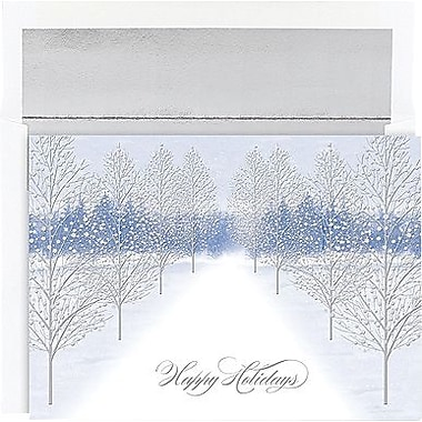 Great Papers® Holiday Cards Winter Path , 16/Count