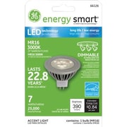GE 7 Watt Energy Smart® MR16 LED Accent Light Bulb, Warm White, Dimmable