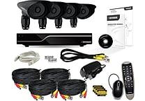 Defender® PRO Sentinel 8CH 1TB DVR w/ 4 x Hi-Res 600TVL 110ft Night Vision