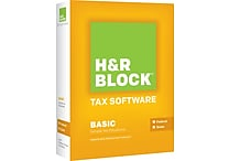 H&R Block Tax Software 13 Basic + State For Windows (1 User) [Boxed]