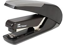Staples One-Touch™ Plus Desktop Flat Stack Full Strip Stapler, 30-Sheet Capacity, Black