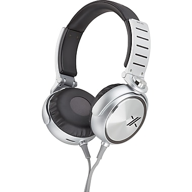 Sony MDR-X05BS X Headphones, Silver/Black