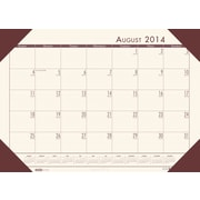 House of Doolittle EcoTone Academic Desk Pad Calendar 13 x 18.5 Cream/Brown