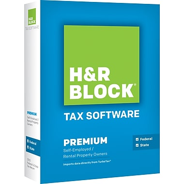 H&R Block Tax Software 13 Premium For Windows (1 User) [Boxed]