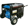 DuroMax XP10000E 10,000W 16Hp Gasoline Powered Portable Generator with Wheel Kit & Electric Start