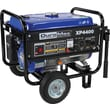 DuroMax XP4400 4400W 7Hp Air-Cooled Gasoline Powered Portable RV Grade Generator with Wheel Kit