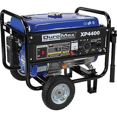 DuroMax® XP4400 4400W 7Hp Air-Cooled Gasoline Powered Portable RV Grade Generator with Wheel Kit