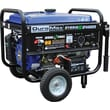 DuroMax XP4400EH Dual Fuel 4400W Hybrid Propane/Gasoline Portable Generator with Wheel Kit & Electric Start