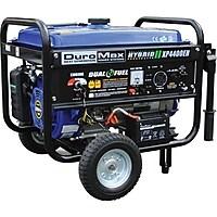 DuroMax XP4400EH 4400 Watt Dual Fuel (Hybrid) Portable Generator (Blue)