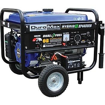 DuroMax XP4400EH 4400W Portable Generator