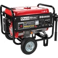 DuroStar DS4400 4400W, 7 Hp Air-Cooled OHV Gasoline Powered Generator with Wheel Kit