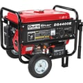 DuroStar DS4400E 4400W, 7 Hp Gasoline Powered Electric Start Generator with Wheel Kit