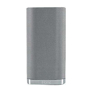 iHome iW3 Airplay Wireless Stereo Speaker System, Silver