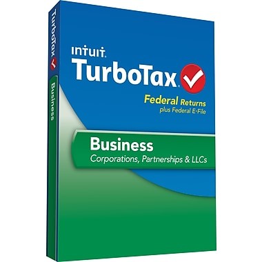 TurboTax Business Fed + Efile 2013 (1 User) [Boxed]