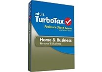 TurboTax Home & Business Fed + Efile + State 2013 for Windows (1 User) [Download]