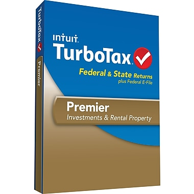 TurboTax Premier Fed + Efile + State 2013 (1 User) [Boxed]