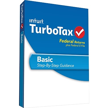 TurboTax Basic Fed + Efile 2013 (1 User) [Boxed]