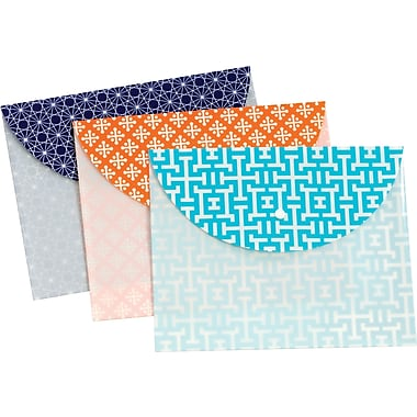 Globe-Weis® Snap Envelope, Letter Size, Assorted