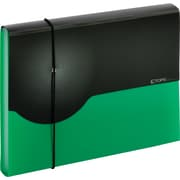 Globe-Weis® 7 Pocket Poly Expanding File, Letter, Green