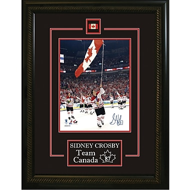 Sidney Crosby Hand Signed Etched Mat