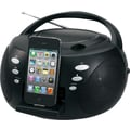 Jensen JiSS-120i Portable Docking CD Music System for iPod & iPhone