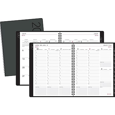2014/2015 AT-A-GLANCE® Contemporary Weekly/Monthly Appointment Book, 8 1/4in. x 10 7/8in.