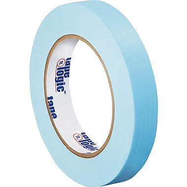Tape Logic™ 3/4in. x 60 yds. Light Masking Tape, Blue, 12 Rolls