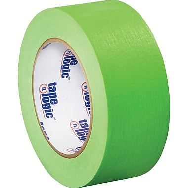Tape Logic™ 2in. x 60 yds. Masking Tape, Light Green, 12/Case