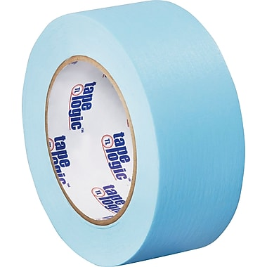 Tape Logic™ 2in. x 60 yds. Light Masking Tape, Blue, 12/Case