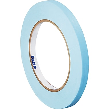 Tape Logic™ 1/4in. x 60 yds. Light Masking Tape, Blue, 12/Case