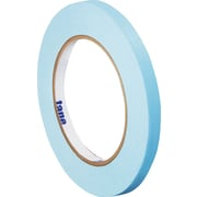 "Tape Logic® Masking Tape, 1/4"" x 60 yds., Light Blue, 12/Case"