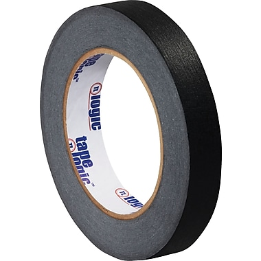 Tape Logic™ 3/4in. x 60 yds. Masking Tape, Black, 12 Rolls