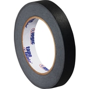 "Tape Logic® Masking Tape, 3/4"" x 60 yds., Black, 12/Case"