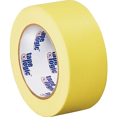Tape Logic™ 2in. x 60 yds. Masking Tape, Yellow, 12 Rolls