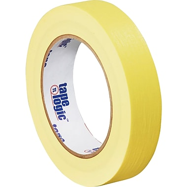 Tape Logic™ 1in. x 60 yds. Masking Tape, Yellow, 12 Rolls
