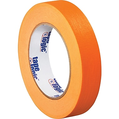 Tape Logic™ 1in. x 60 yds. Masking Tape, Yellow, 12/Case