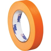 "Tape Logic® Masking Tape, 1"" x 60 yds., Orange, 12/Case"