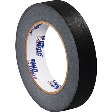 Tape Logic™ 1in. x 60 yds. Masking Tape, Black, 12 Rolls
