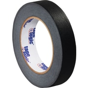 "Tape Logic™ 1"" x 60 yds. Masking Tape, Black, 12/Case"
