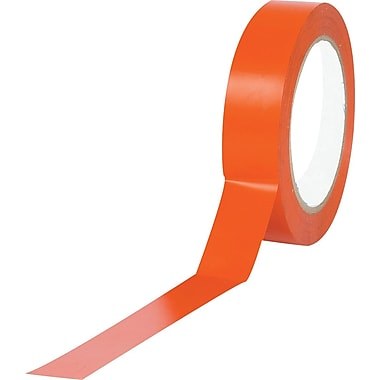 Tape Logic™ 1in. x 36 yds. Solid Vinyl Safety Tape, Orange, 3/Pack