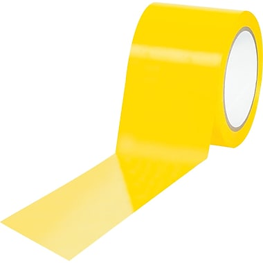 Tape Logic™ 3in. x 36 yds. Solid Vinyl Safety Tape, Yellow, 3/Pack