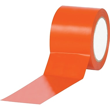 Tape Logic™ 3in. x 36 yds. Solid Vinyl Safety Tape, Orange, 3/Pack