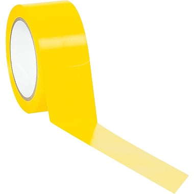 Tape Logic™ 2in. x 36 yds. Solid Vinyl Safety Tape, Yellow, 3/Pack