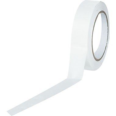 Tape Logic™ 1in. x 36 yds. Solid Vinyl Safety Tape, White, 3/Pack