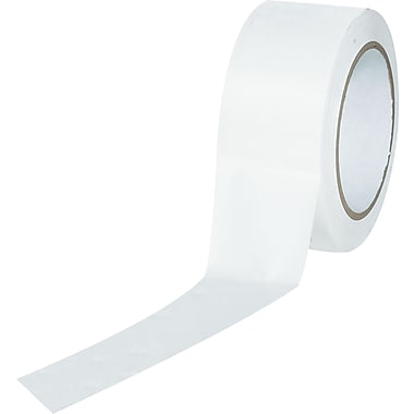 Tape Logic™ 2in. x 36 yds. Solid Vinyl Safety Tape, White, 3/Pack