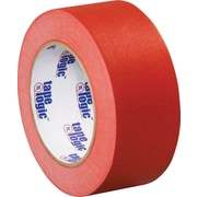 "Tape Logic™ 2"" x 60 yds. Masking Tape, Red, 12/Case"