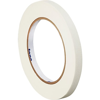 Tape Logic™ 1/4in. x 60 yds. Masking Tape, White, 12/Case