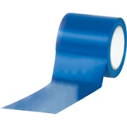 "Tape Logic™ 4"" x 36 yds. Solid Vinyl Safety Tape, Blue, 3/Pack"